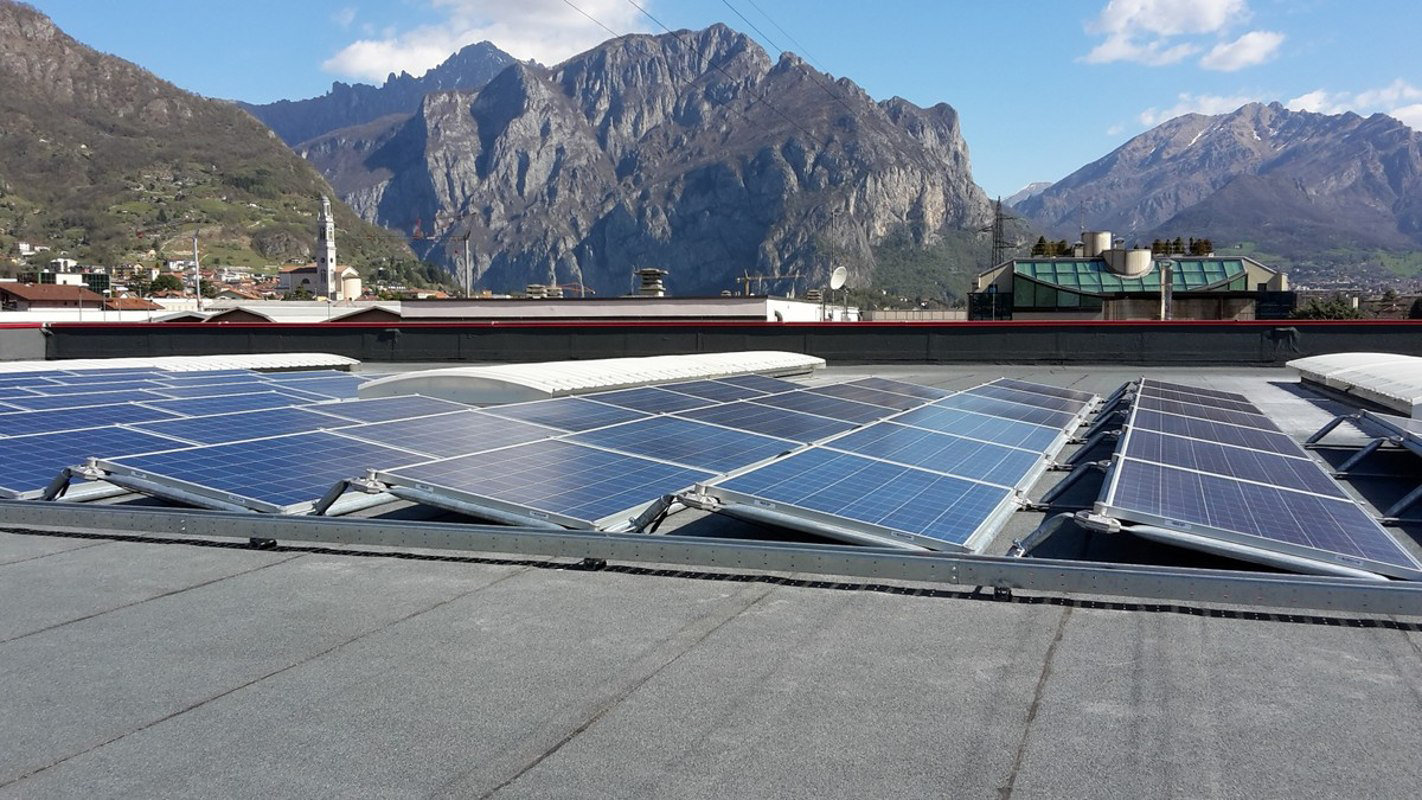 Impianti Fotovoltaici Busto Arsizio solar panels mounting systems without drilling the roof